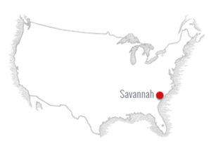 Savannah-Georgia-map